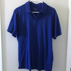Men's BR royal blue casual polo